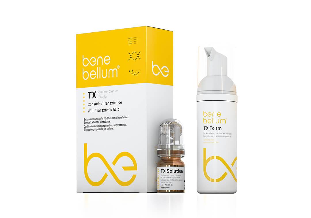Benebellum Skintech peeling TX kit pack spot remover