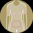 Prendas compresión para cuerpo y chalecos postquirúrgicas