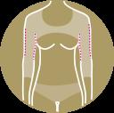 Otras prendas de compresión postquirúrgicas