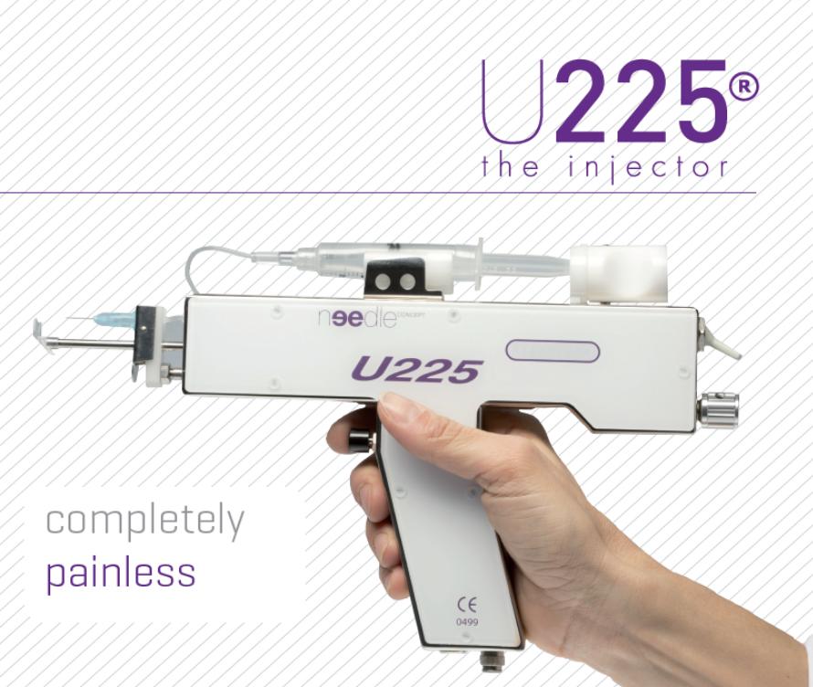 Inyector U225 distribuirdor España Sellaesthetic
