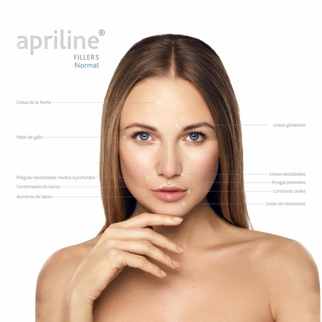 Zonas tratamientos Apriline® Normal - Sellaesthetic