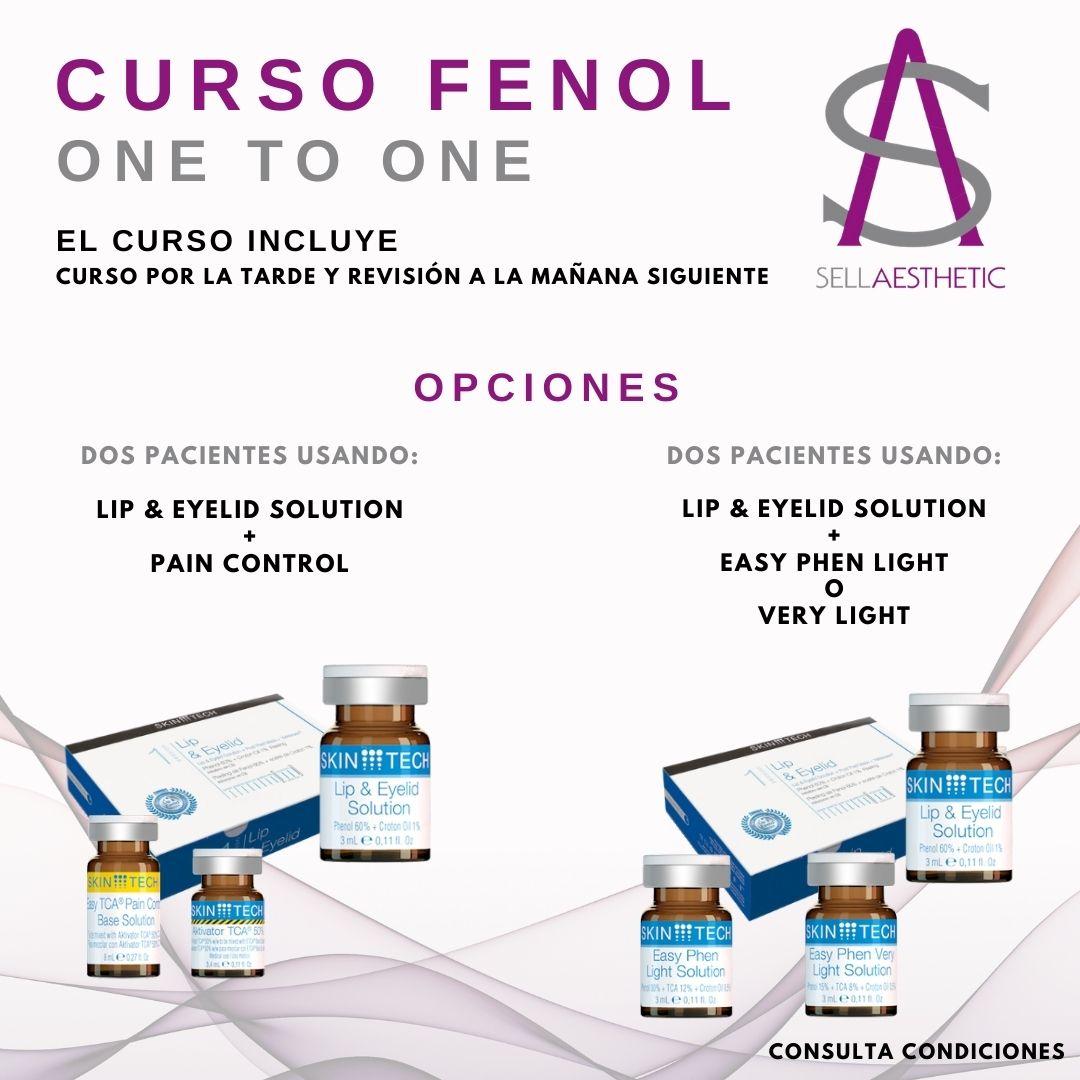 Curso One To One Peeling de Fenol médicos estéticos y cirujanos plásticos