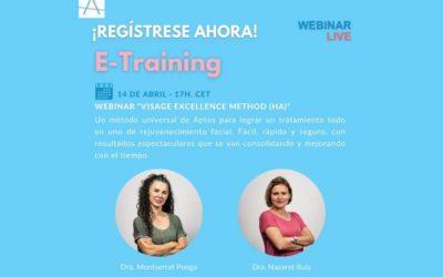 Webinar Aptos Visage Excellence Method (HA) 14 de abril 2021