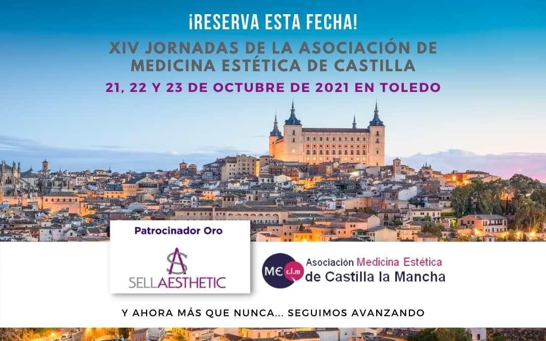 Sellaesthetic Patrocinador Oro en las XIV Jornadas de la Asociación de Medicina Estética de Castilla La Mancha