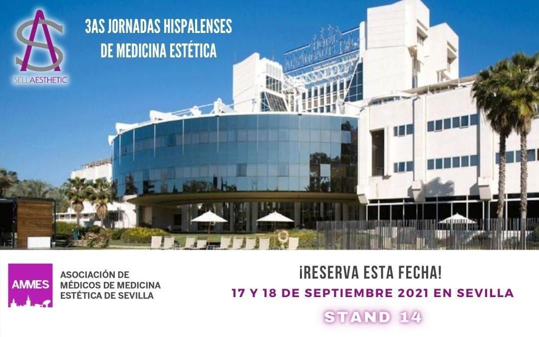 Estaremos en las 3ªs Jornadas Hispalenses de Medicina Estética 17 y 18 de septiembre 2021