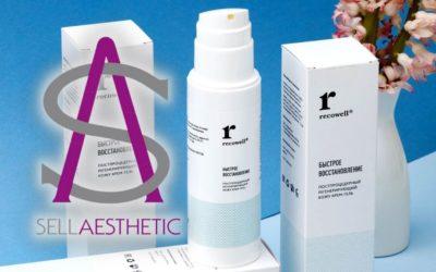 ¡Novedad! Recowell crema post-tratamiento de médicina estética